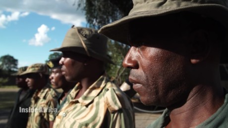Inside Africa Protectors versus poachers gear up with Zambia's Gaboon Viper Squad B_00011105