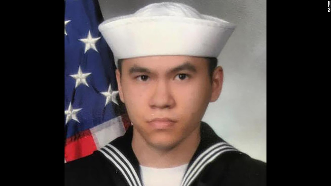 Sonar Technician 3rd Class Ngoc T Truong Huynh, 25, from Oakville, Connecticut.