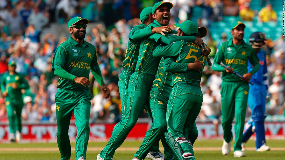 Pakistan, ranked No.8 in the world, celebrated a victory no one expected and one which will live long in the memory.