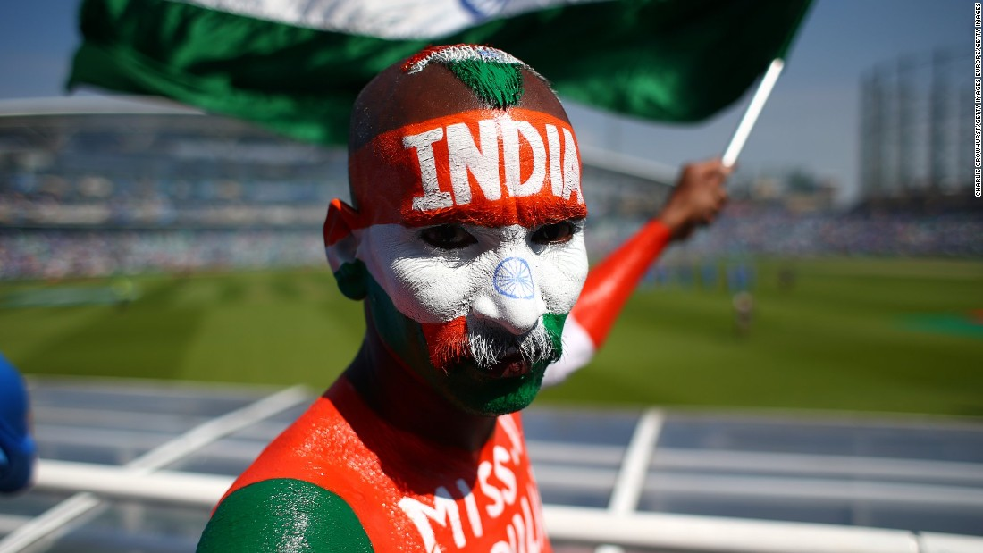 For some, attending the final In London was reason enough to go all-out with the face paint. This particular fan was dressed to impress. <br />