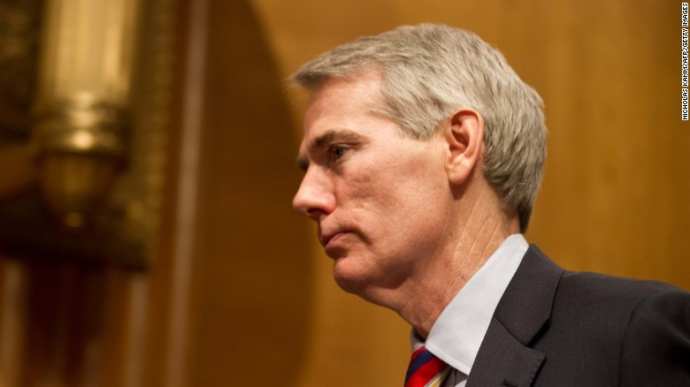 GOP Sen. Rob Portman won't run for reelection, saying it's difficult to 'break through the partisan gridlock'