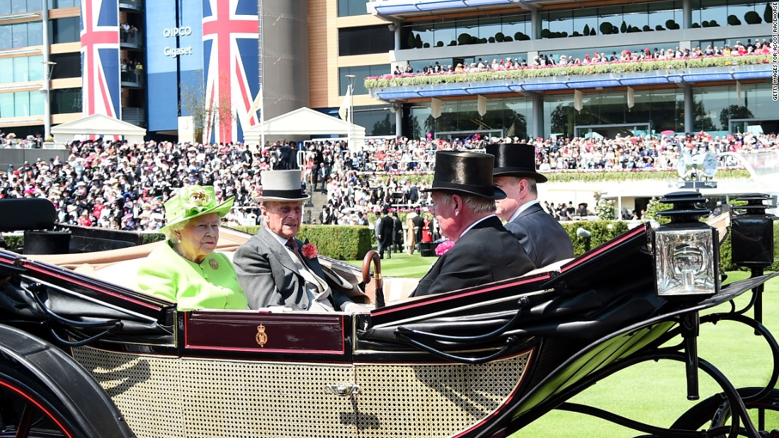 The Queen is big horse racing fan and continues the royal traditions of riding in a horse-drawn carriage up Ascot's Straight Mile to open each day, first introduced by King George IV in 1825.
