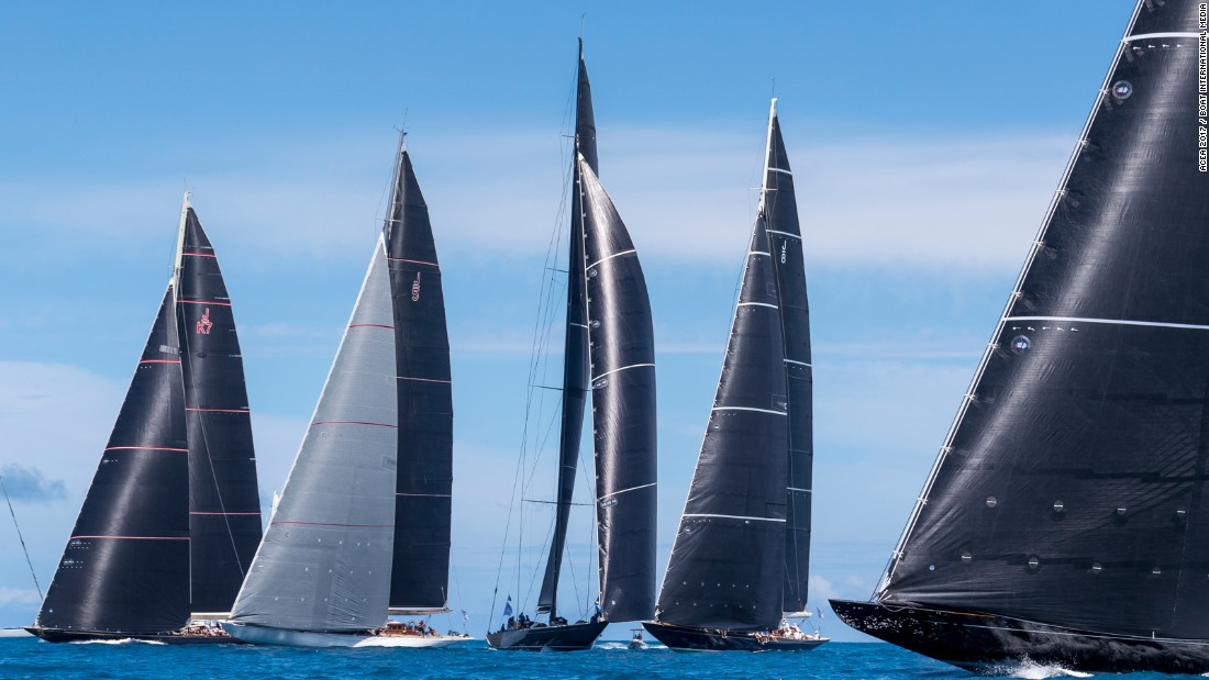 In the fleet of six J Class yachts, Ranger eventually finished in second place, while Velsheda completed the podium in third.