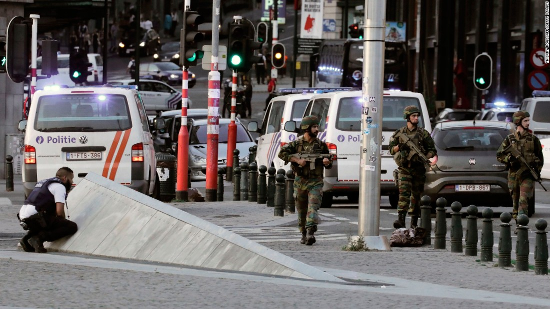 Explosive TATP used in Brussels Central Station attack, initial exam shows
