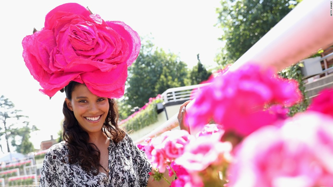Royal Ascot is very much a cathedral of high fashion ...