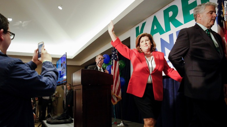 Karen Handel thanks Trump in victory speech