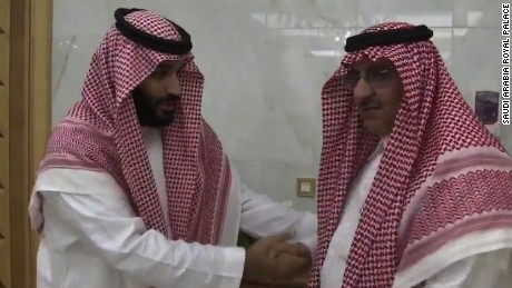 Saudi king appoints son as heir