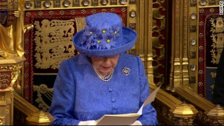 the queens speech britain united kingdom queen elizabeth sot_00000000