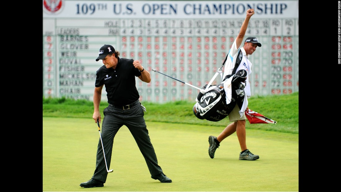 Mickelson just needs the US Open to complete the grand slam of all four majors but with a record six runner-up spots it has become his nemesis.