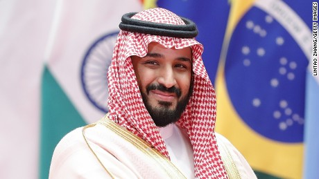 Saudi crown prince promises 'a more moderate Islam'