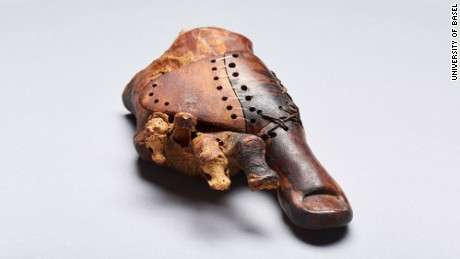 Ancient Egyptian's wooden toe is sophisticated prosthetic