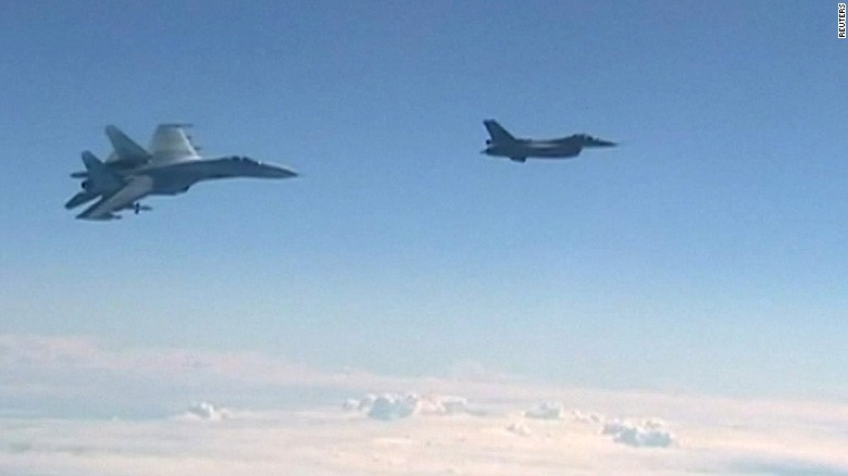 North Atlantic Treaty Organisation accuses Russian jet of conducting