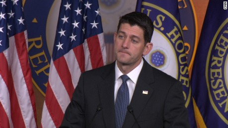 House Speaker Paul Ryan discusses senate bill and its tack with the house bill.