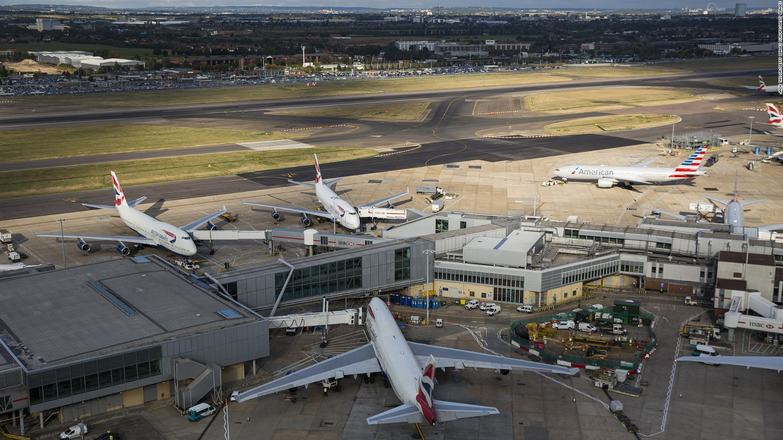 heathrow airport launches probe after usb stick with security files found cnn