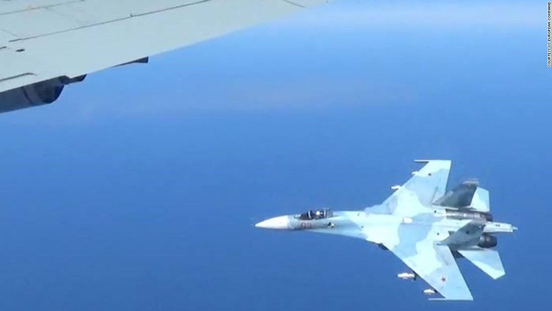 Russia disputed claims that its aircraft was at fault during the encounter.