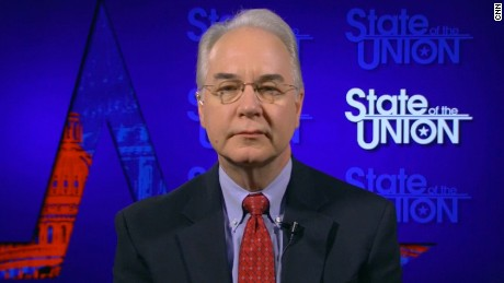 Dana Bash interviews Health and Human Services Secretary Tom Price