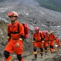 01 China landslide 0625 RESTRICTED