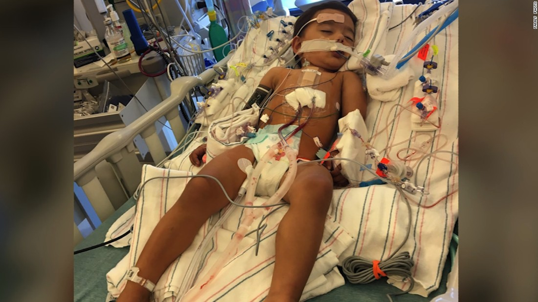 Mother of boy with rare genetic disorder tweets hospital bill