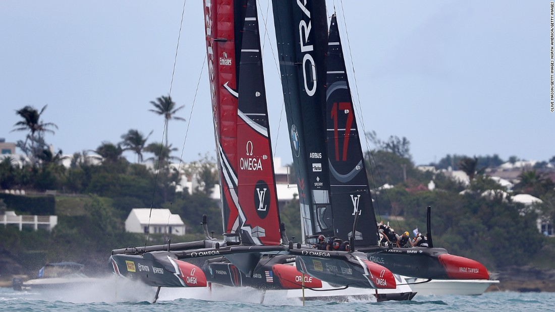 On the water, Spithill has been overshadowed by 26-year-old Kiwi Pete Burling who is skippering in the Emirates Team New Zealand.