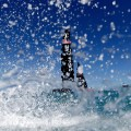 america's cup oracle splashing