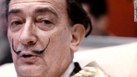 A woman claims she is artist Salvador Dali's daughter.