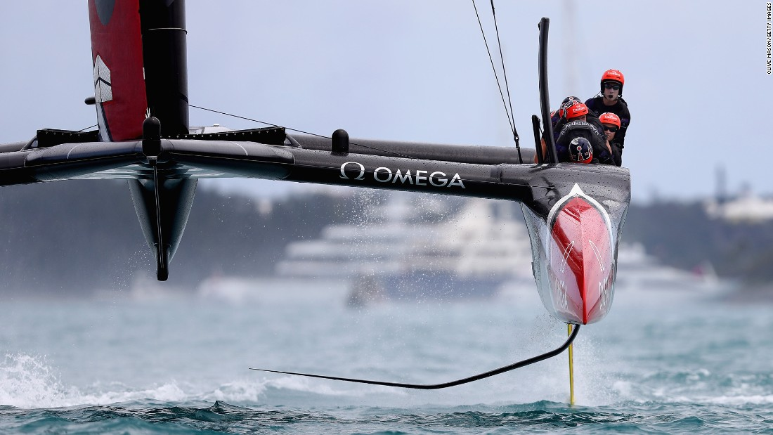 "Emirates Team New Zealand, led by Peter Burling, races during the third day of the America's Cup on Saturday, June 24. The team would go on to regain the cup on Monday, <a href=""http://www.cnn.com/2017/06/26/sport/americas-cup-team-new-zealand-beat-oracle-team-usa/index.html"" target=""_blank"">trouncing Oracle Team USA.</a>"