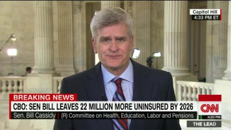 Sen. Cassidy: CBO estimate makes me 'more concerned'