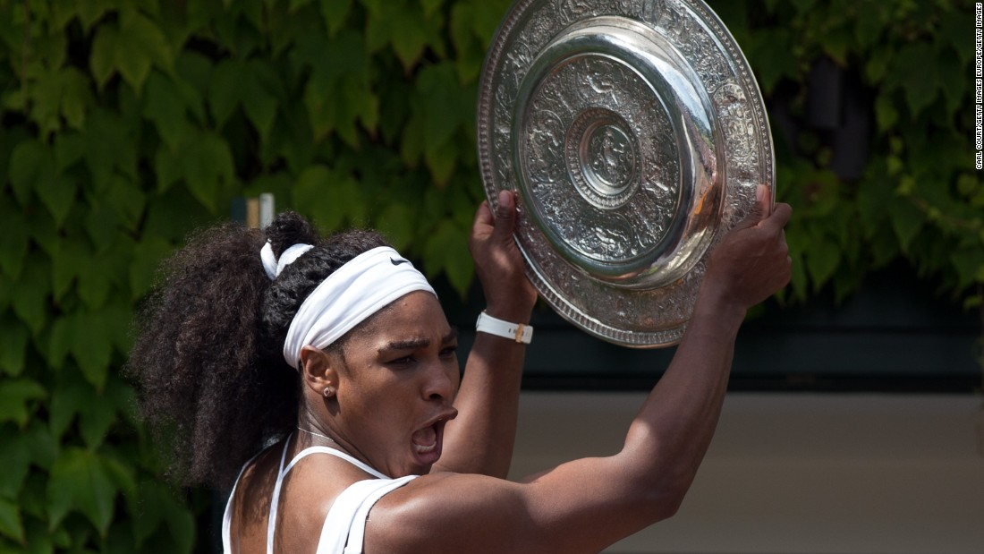 In June, it was revealed that Williams was the only woman in the new Forbes list of the world's 100 highest paid athletes. Williams, ranked 51, made $27 million last year.