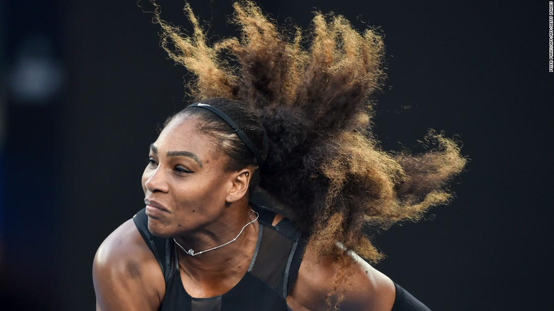 "Williams in June also responded to John McEnroe's claims that she would struggle to be in the world's top 700 if she was on the men's Tour, telling her fellow American to ""respect me and my privacy."""