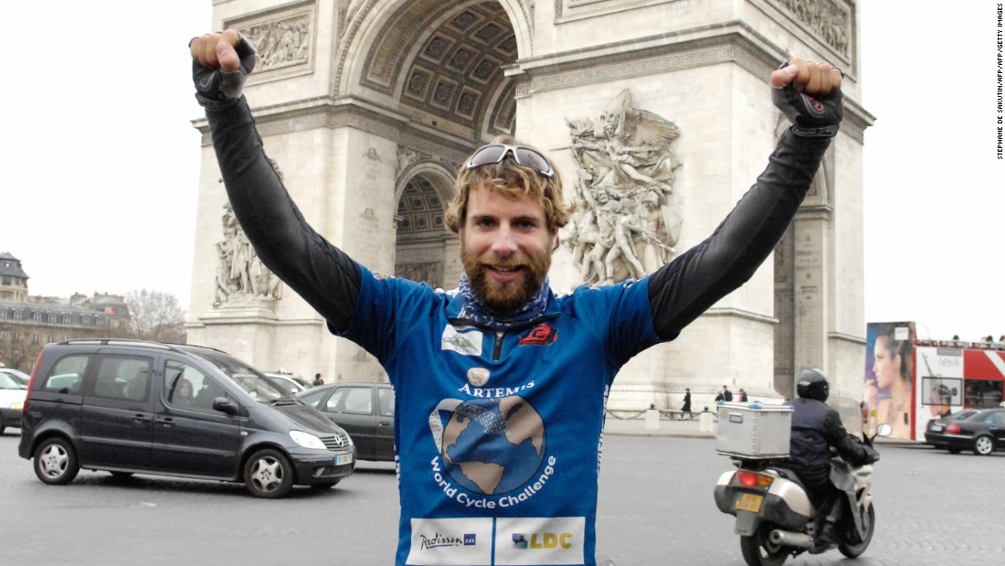 In 2008 Mark Beaumont cycled approximately 18,000 miles around the world in 195 days. He is attempting to repeat the feat in just 80 days starting July 2.