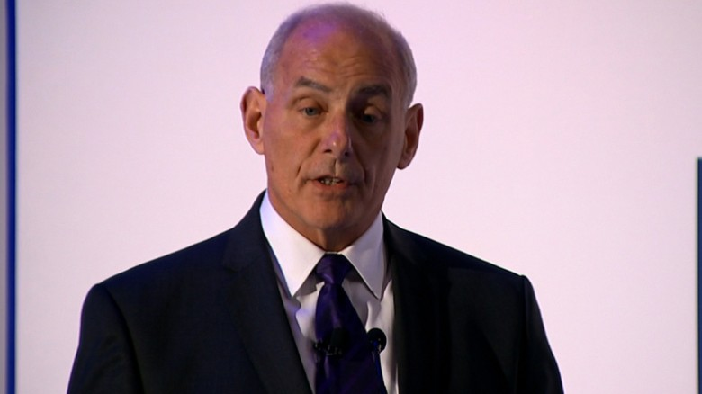 John Kelly: Time to raise aviation security