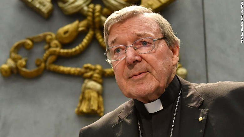 Hear Pell's response to sex assault charges