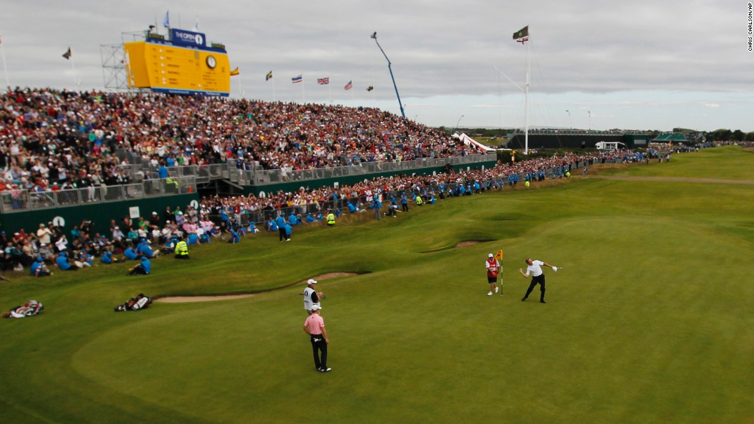 <strong>Royal Lytham & St. Annes: </strong> The relatively short course still provides a tough test with 206 bunkers to navigate. South African Ernie Els won the last Open here in 2012.