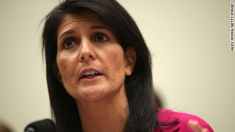 Nikki Haley: Sanctions are a gut punch to N. Korea