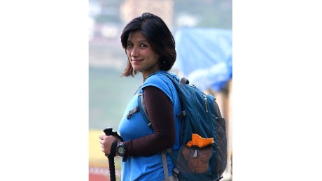 Jamsenpa and her husband travel frequently -- although they still have a base in Bomdila, India.