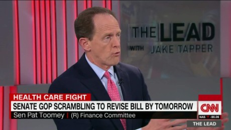 Lead Senator Toomey on Heath Care Bill Interview _00004326