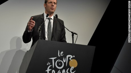 Christian Prudhomme has been the Tour de France race director since 2007.