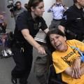 01 denver protesters arrested 0629 RESTRICTED