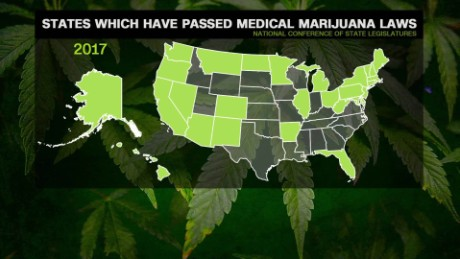 Long Lines In Nevada As Recreational Marijuana Goes On Sale CNN - Us map of legal weed 2017