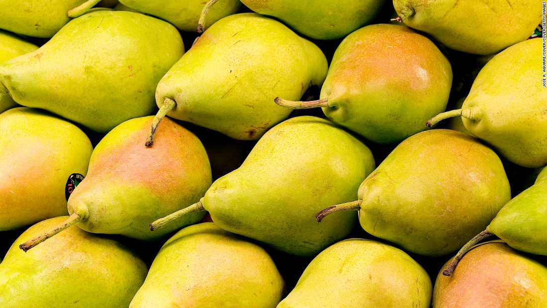 At 6 grams each pears have some of the highest fiber content in the fruit family. Eat them raw in salads or poached in wine or pomegranate juice for dessert