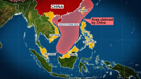 US destroyer sails near China-claimed island
