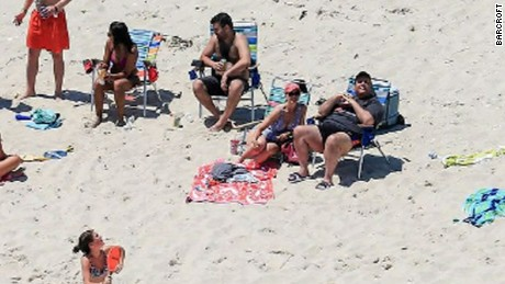 Chris Christie beach Early Start