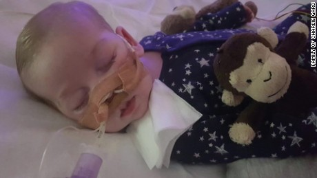 Dying baby from U.K at center of life-support debate