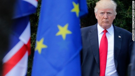 Trump faces stiff challenge in Merkel, Putin showdowns