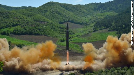 Footage emerges of North Korea's ICBM launch