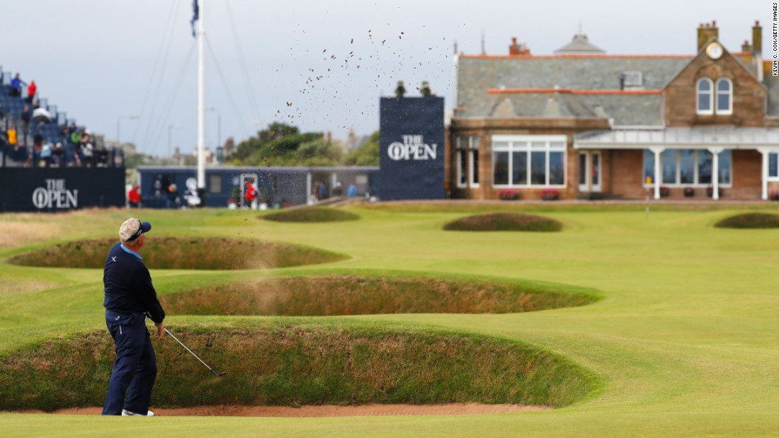 <strong>Royal Troon: </strong>The classic old links on Scotland's Ayrshire coast last hosted the Open in 2016 when Henrik Stenson won a famous duel against Phil Mickelson on the final day. Scotland's Colin Montgomerie (pictured) is a Troon native.