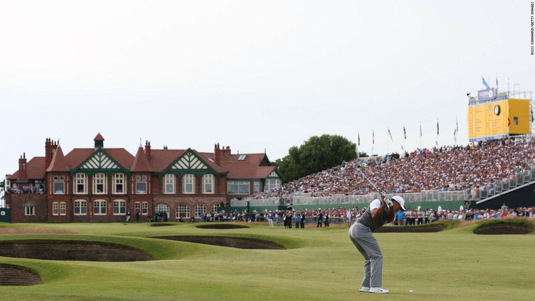 <strong>Royal Lytham & St. Annes: </strong>Nestled in a pocket of duneland surrounded by houses and a railway track, Royal Lytham in northwest England retains a charming links quality.