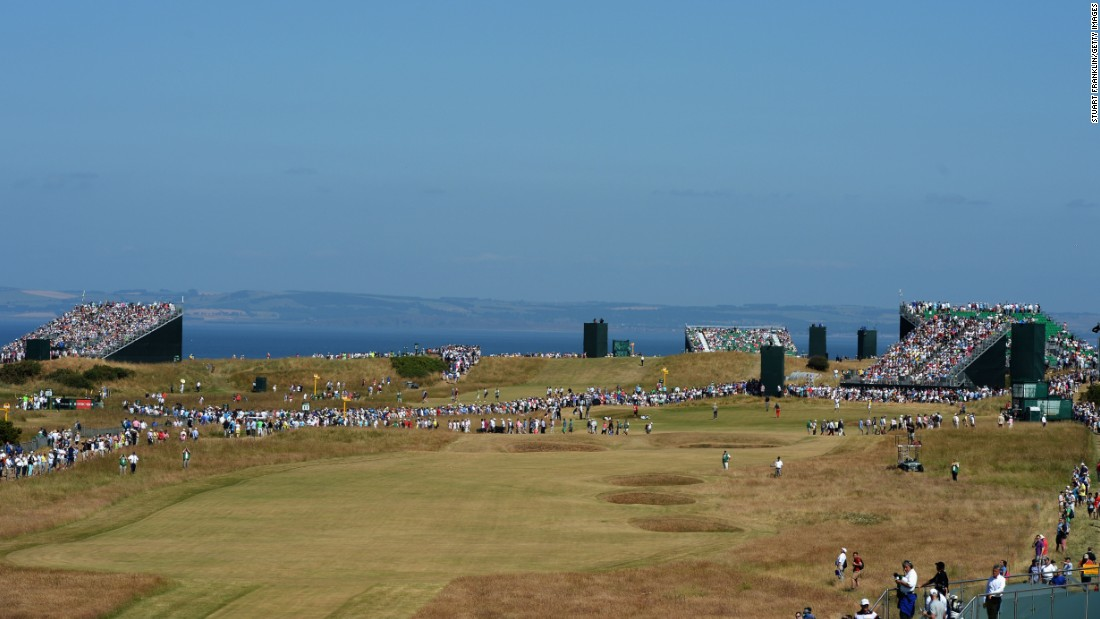 <strong>Muirfield: </strong>The testing track near Gullane has been mired in controversy after the club voted -- at the second attempt -- to admit female members.