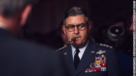 Gen. Curtis LeMay in September 1965.