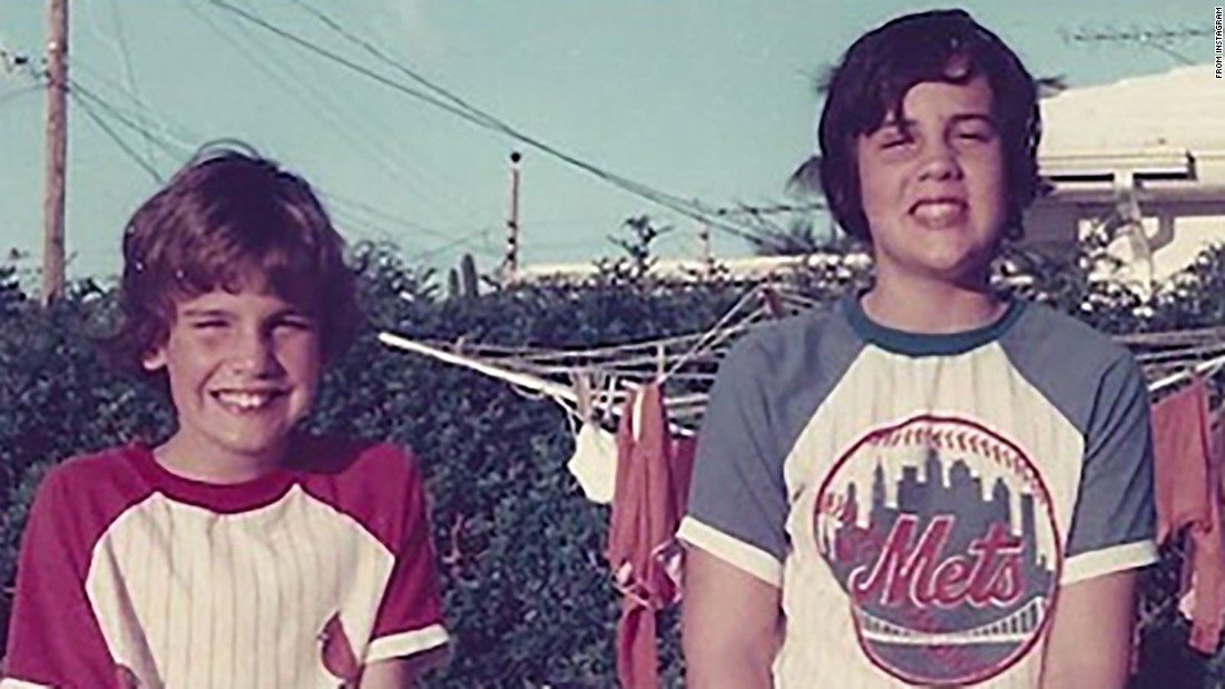 "Christie, right, stands with his brother, Todd, in this old photo <a href=""https://www.instagram.com/p/8wgsQjzetr/"" target=""_blank"">he posted to Instagram</a> in October 2015. Christie was born in Newark, New Jersey, in 1962. His family later moved to Livingston, New Jersey, where he attended high school before enrolling at the University of Delaware."